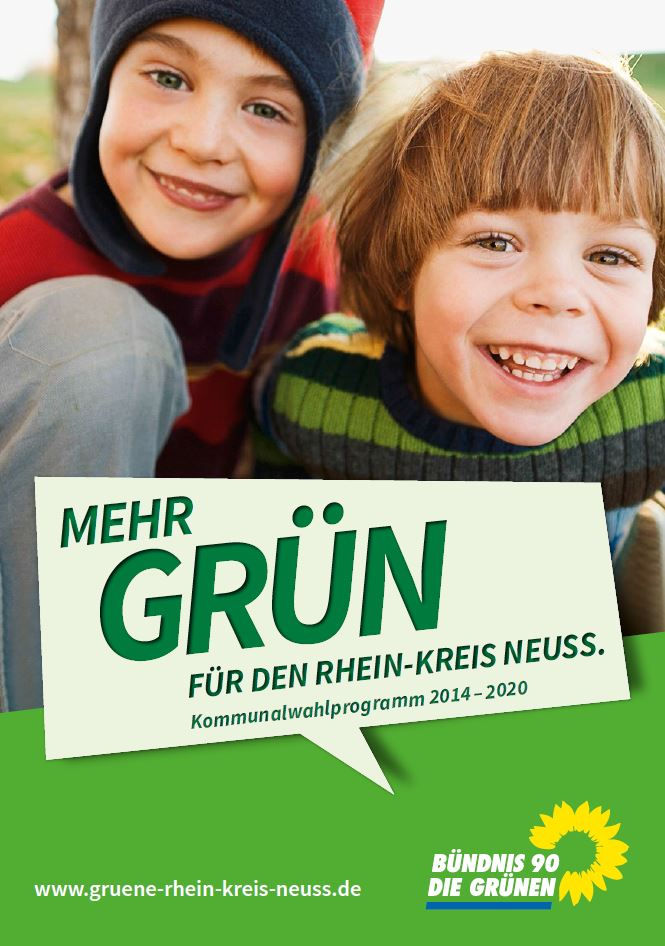 Kommunalwahlprogramm 2014 - Grüne RKN