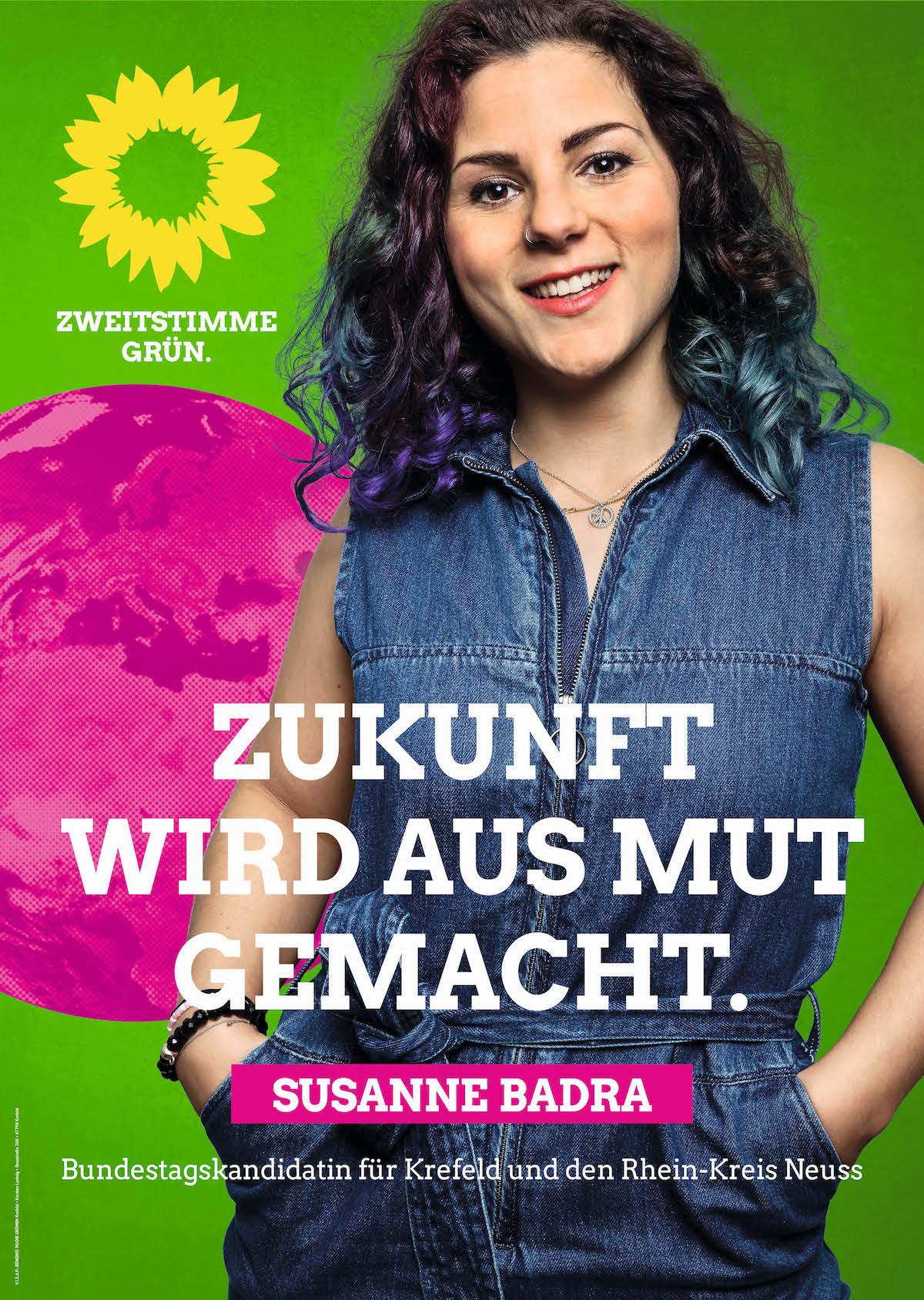 24. September Grün wählen!