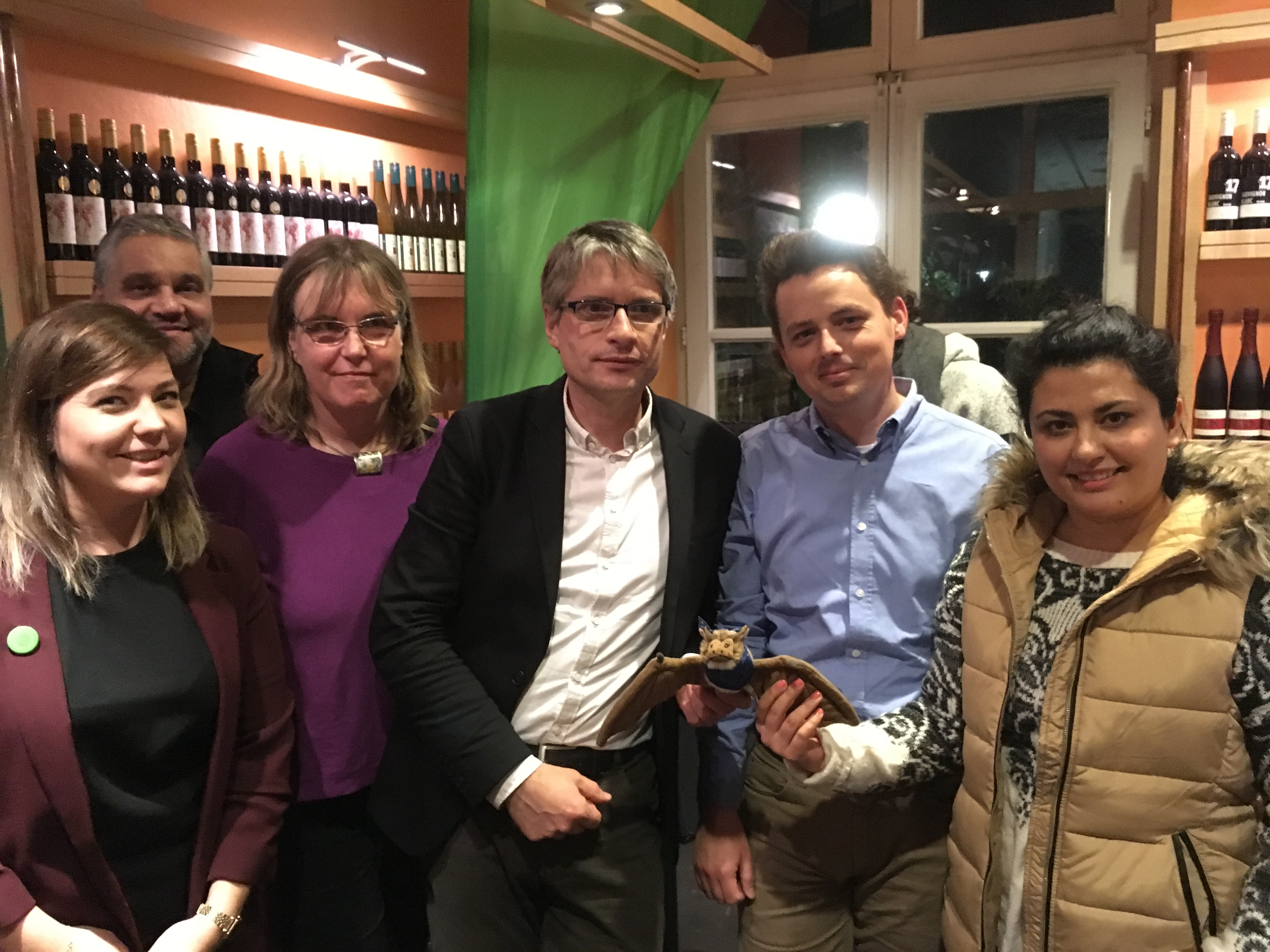Sven Giegold zu Gast in Neuss: Grüne eröffnen Europawahlkampf