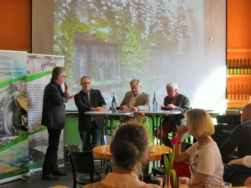 Hans Christian Markert, Klaus Emmerich, Peter Immekus, Hans Stenzel (v. l.)