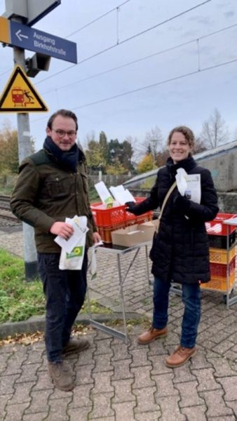 Kolja Fußbahn und Nina Lennhof