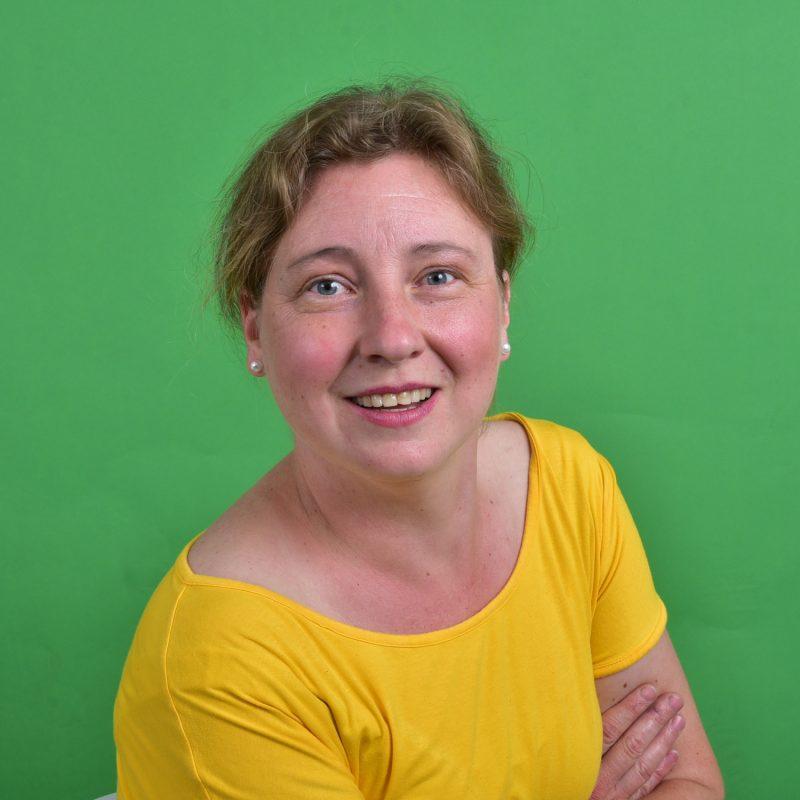 Ute Leiermann, Kreistagsabgeordnete der GRÜNEN im Rhein-Kreis Neuss und Sprecherin Planung