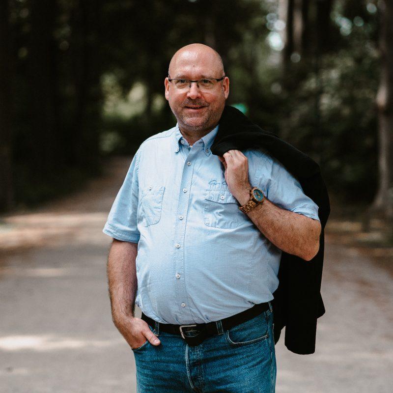 Dirk Schimanski, Kreistagsabgeordneter der GRÜNEN im Rhein-Kreis Neuss und Sprecher für Rettungswesen & Katastrophenschutz und Polizei