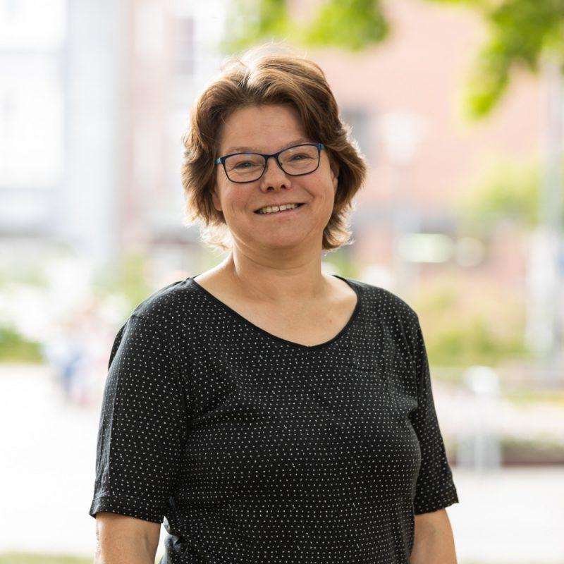 Annette Kehl, Kreistagsabgeordnete der GRÜNEN im Rhein-Kreis Neuss und Sprecherin für Naturschutz