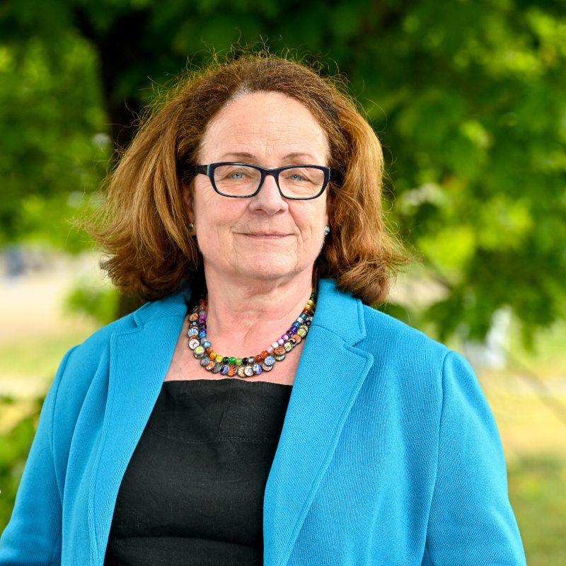 Marianne Michael-Fränzel, Kreistagsabgeordnete der GRÜNEN im Rhein-Kreis Neuss und Sprecherin für Kultur
