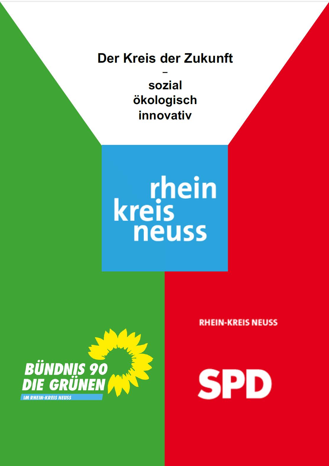 Kooperationsvertrag 2020-2025 zwischen SPD und GRÜNEN