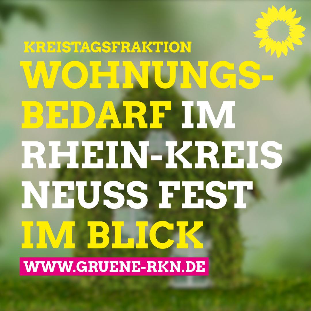 Den Wohnungsbedarf im Rhein-Kreis Neuss fest imBlick