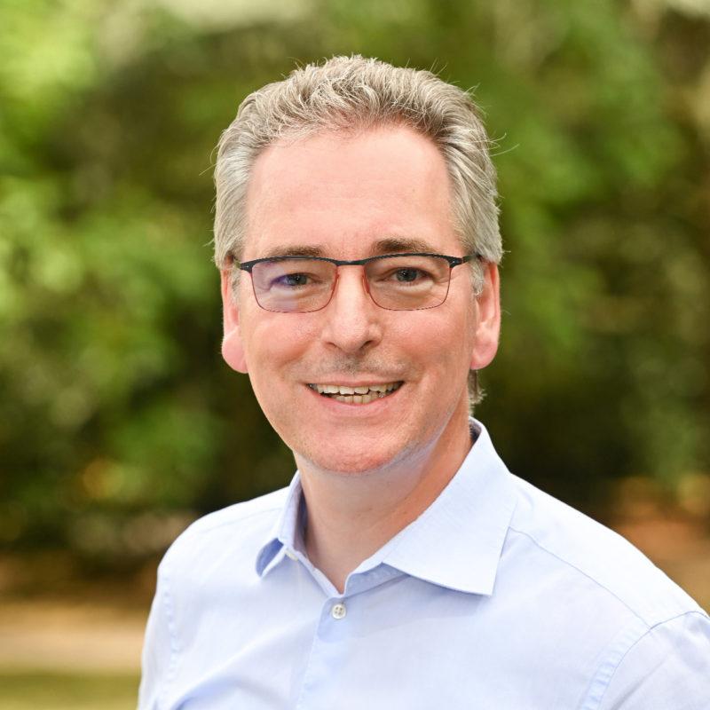 Hans Christian Markert, Kreistagsabgeordneter der GRÜNEN im Rhein-Kreis Neuss und Sprecher für Umwelt, Klima und Energie
