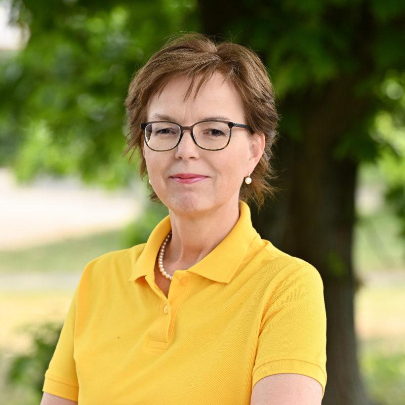 Petra Schenke, Schulpolitische Sprecherin der GRÜNEN im Rhein-Kreis Neuss
