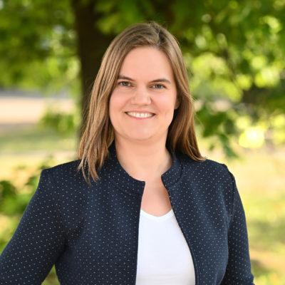 Kristina Neveling, Kreistagsabgeordnete der GRÜNEN im Rhein-Kreis Neuss und Sprecherin Mobilität