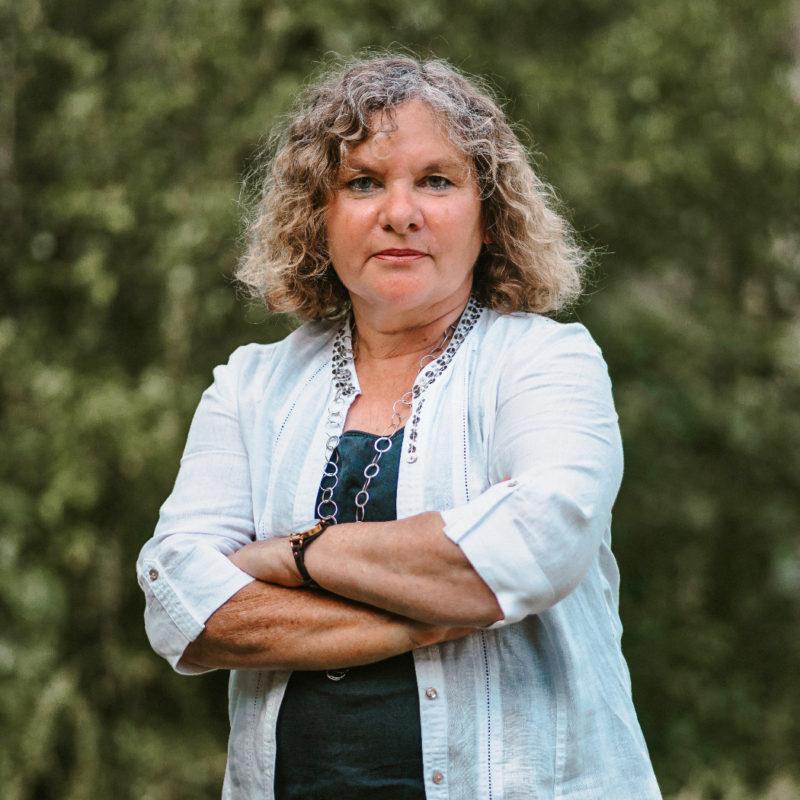 Renate Steiner, Kreistagsabgeordnete der GRÜNEN im Rhein-Kreis Neuss und Sprecherin für Landwirtschaft