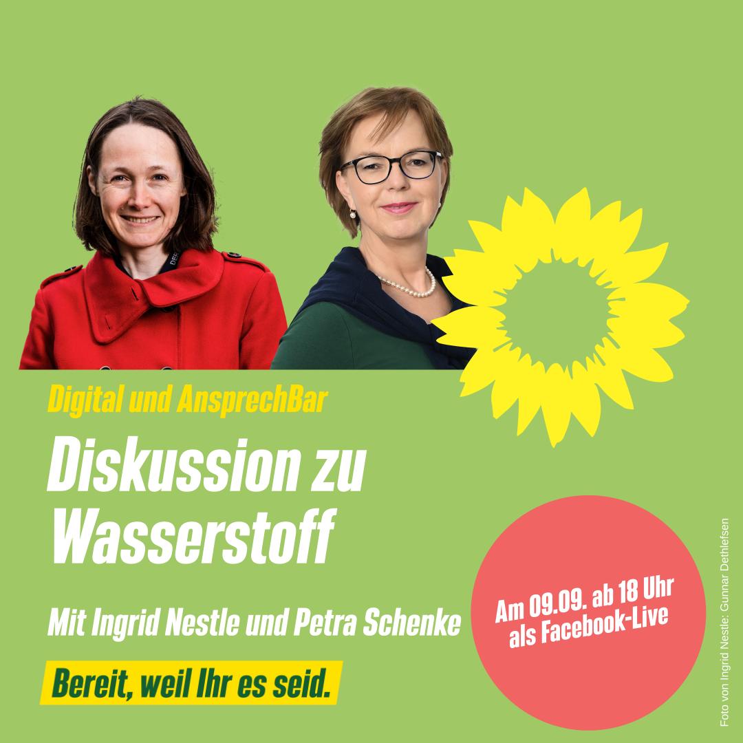 Digital und AnsprechBar mit Ingrid Nestle und Petra Schenke: Energiepolitik